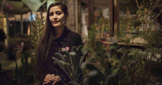 La escritora chilena Daniela Catrileo. RAÚL GOYCOOLEA