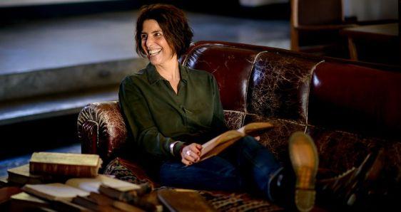 La filósofa y psicóloga uruguaya Magdalena Reyes. CORTESÍA CARLOS CHINO PAZOS (@CHINOPAZOS) / WWW.ZONABARRIOS.UY
