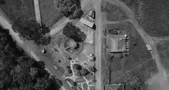 Vista aérea del municipio brasileño de Fordlândia en un fotograma de 'Fordlândia malaise', de Susana de Sousa Dias. KINTOP