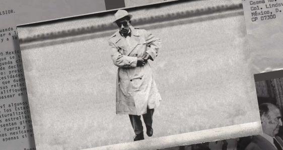 El periodista mexicano Manuel Buendía, en un fotograma de 'Red Privada', el documental de Manuel Alcalá. NETFLIX