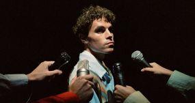 El músico español Sen Senra, en la grabación del videoclip de 'Perfecto'. SONIDO MUCHACHO