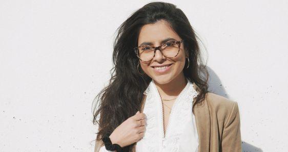 La periodista venezolana Gabriela Consuegra, autora de 'Ha pasado un minuto y queda una vida'. ANDRÉS RODRÍGUEZ MORADO
