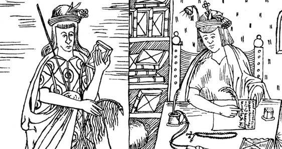 Ilustraciones de la 'Nueva crónica y buen gobierno', libro de 1615 sobre el Virreinato del Perú. INSTITUTO CERVANTES