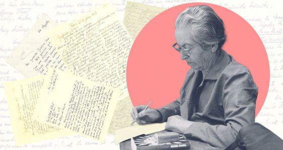 La escritora chilena Gabriela Mistral, de quien se han publicado diversos libros de cartas. ELENA CANTÓN