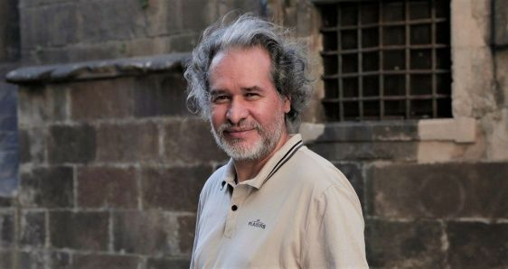 El escritor colombiano Sergio Álvarez Guarín. NATALIA CASTEÑEDA ARBELÁEZ