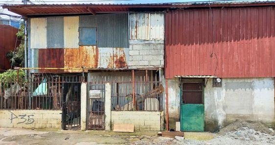Casas en el barrio de Pueblo Nuevo, en San José, Costa Rica. LUIS BRUZÓN DELGADO