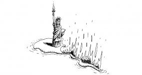 Ilustración de Tute para la edición 50 aniversario de 'Las venas abiertas de América Latina', de Eduardo Galeano. SIGLO XXI/TUTE
