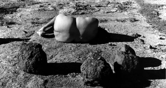 'Nature Self-Portrait #2', Laura Aguilar (1996). LAURA AGUILAR/ UCLA CHICANO STUDIES RESEARCH CENTER
